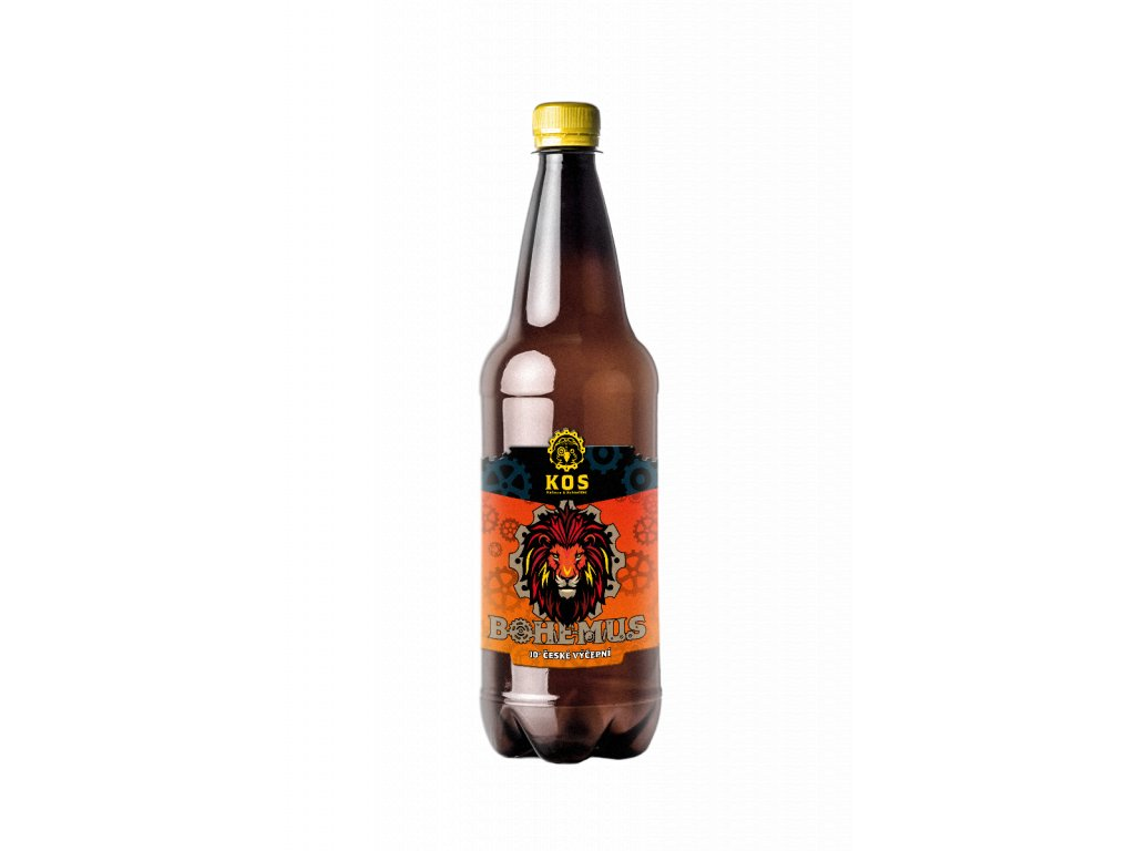 bottle mockup design 04 BOHEMUS