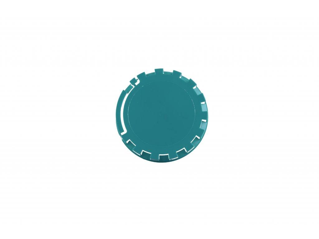 KEG víčko barva č.24 modrozelená