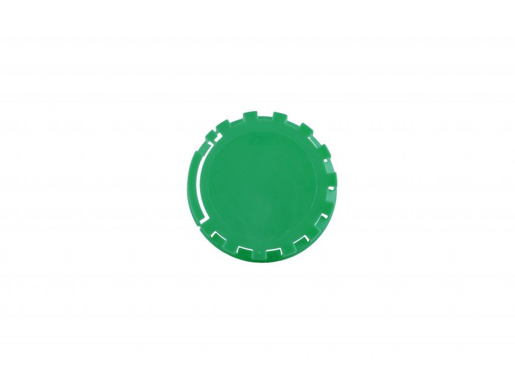 KEG víčko barva č.22 světle zelená