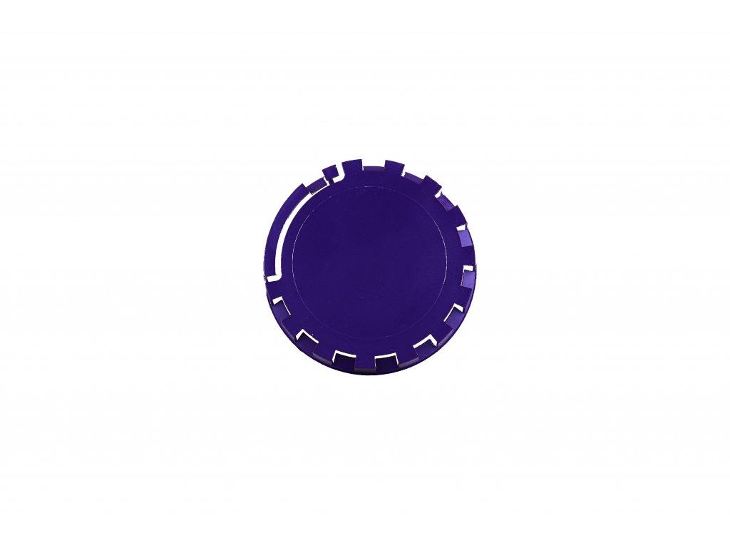 KEG víčko barva č.15 tmavě fialová