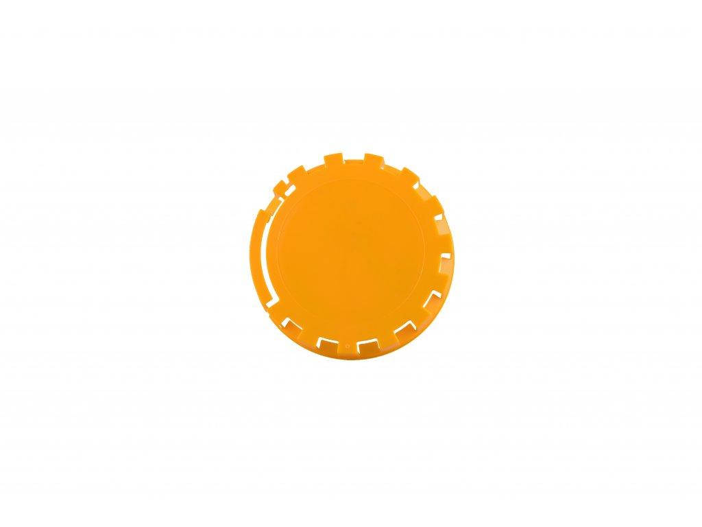 KEG víčko barva č.7 tmavě žlutá