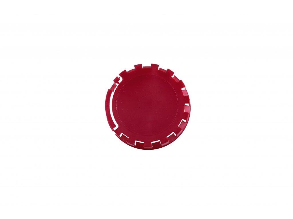 KEG víčko barva č.10 tmavě červená