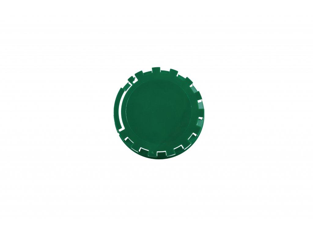 KEG víčko barva č.25 tmavě zelená