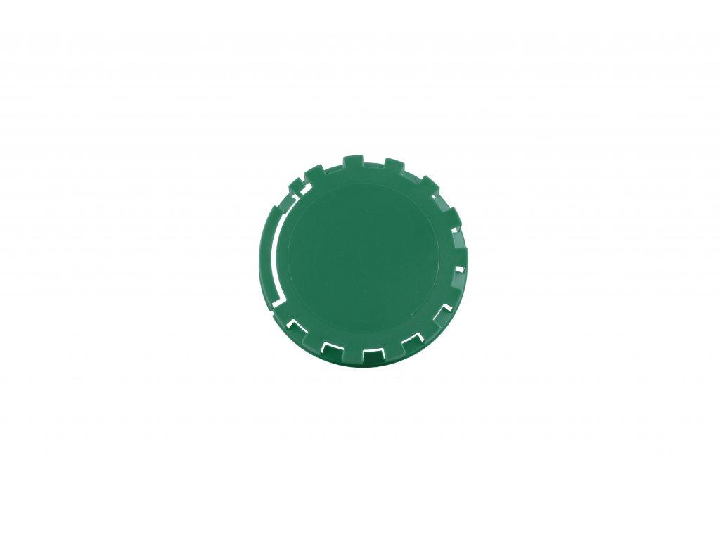 KEG víčko barva č.23 zelená