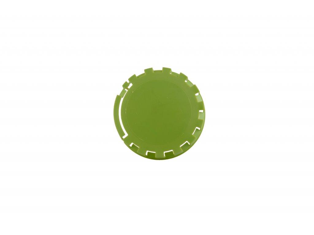 KEG víčko barva č.32 zeleno žlutá