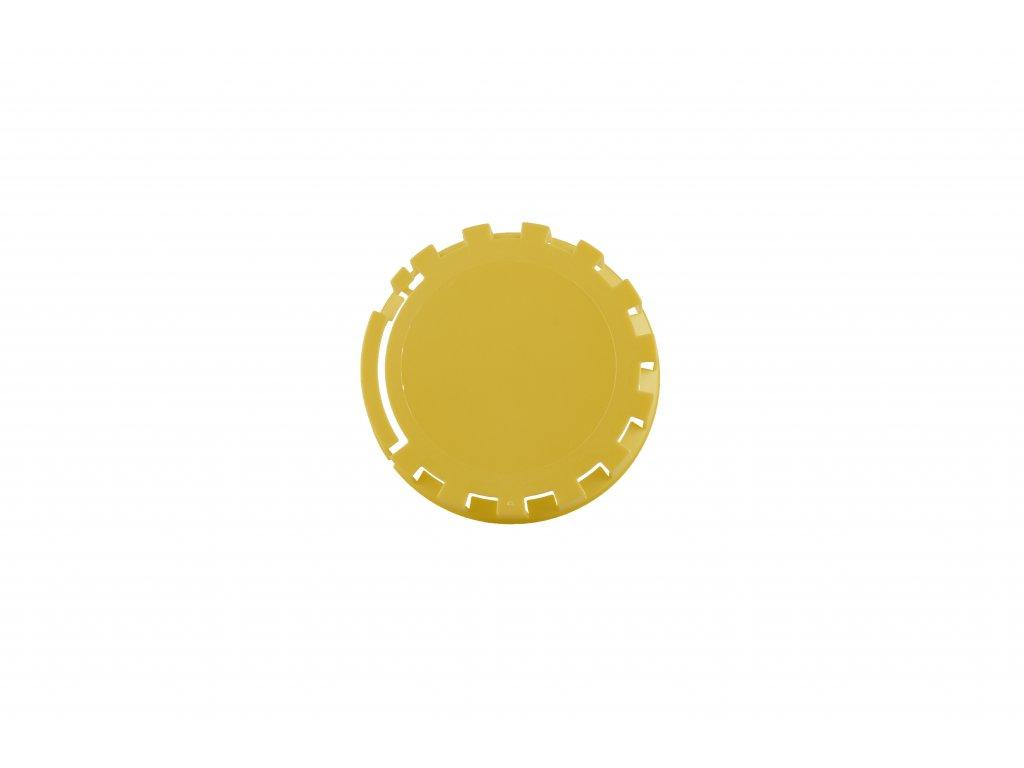KEG víčko barva č.6 žlutá