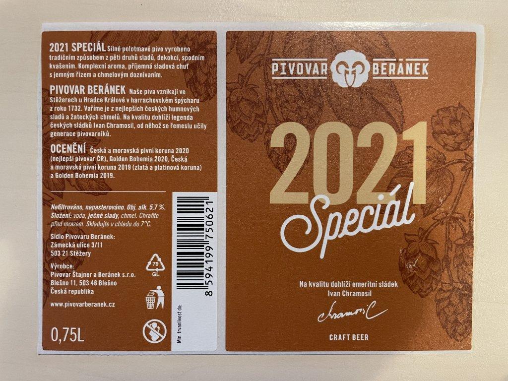 Etiketa Speciál 2021 1ks