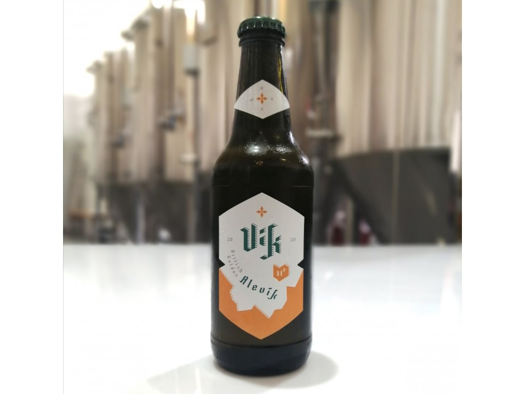 British Golden Ale 11° - 0,33 l sklo