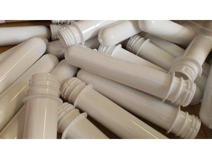 Preformy bílé (28 mm) - 100 ks