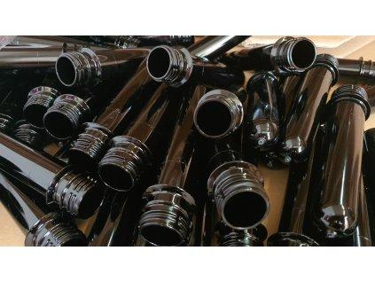 Preformy černé (28 mm) - 100 ks