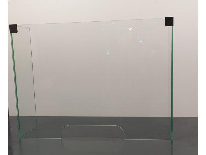 ochranná přepážka z bezpečnostního skla