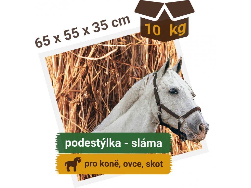balik slamy hranaty 10 kg 65x55x35 cm