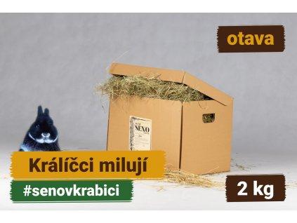 seno v krabici 2 kg otava