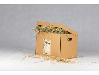 seno v krabici krabicove 2 kg