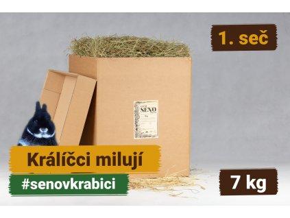 seno v krabici 7 kg 1 sec