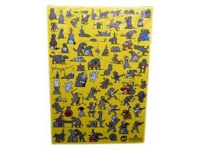 Puzzle 108 dílků