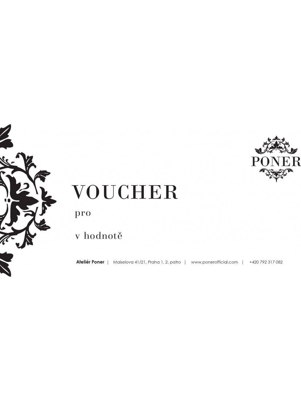 Voucher PONER 2021 1