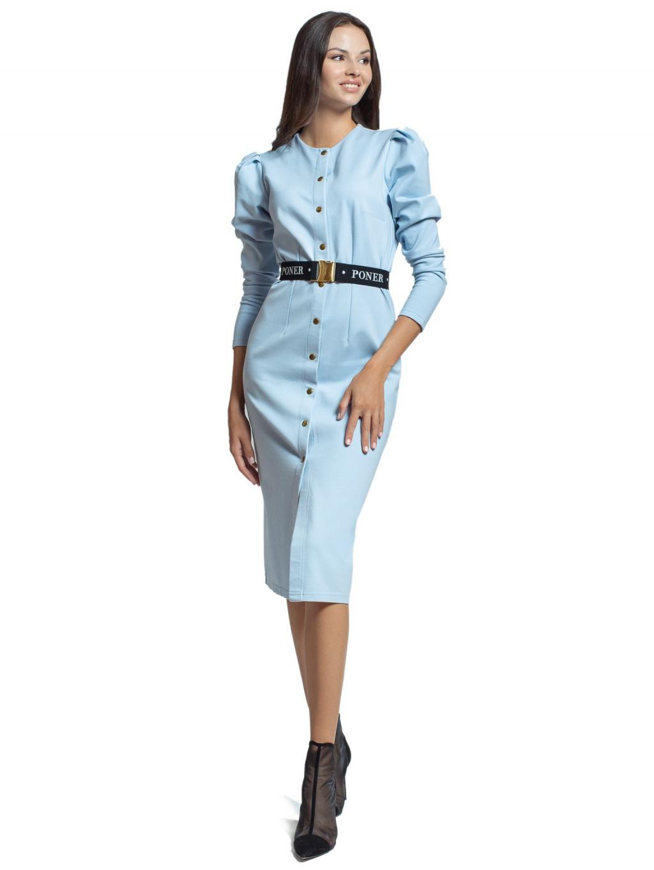 Šaty s nabíranými rukávy ROSEA II, PONER