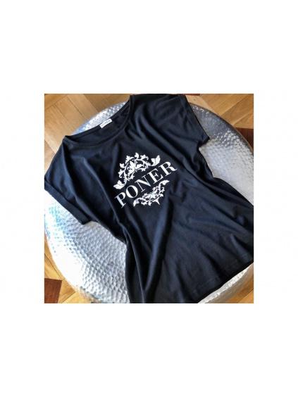 Bavlněné tričko ANEMONE, PONER