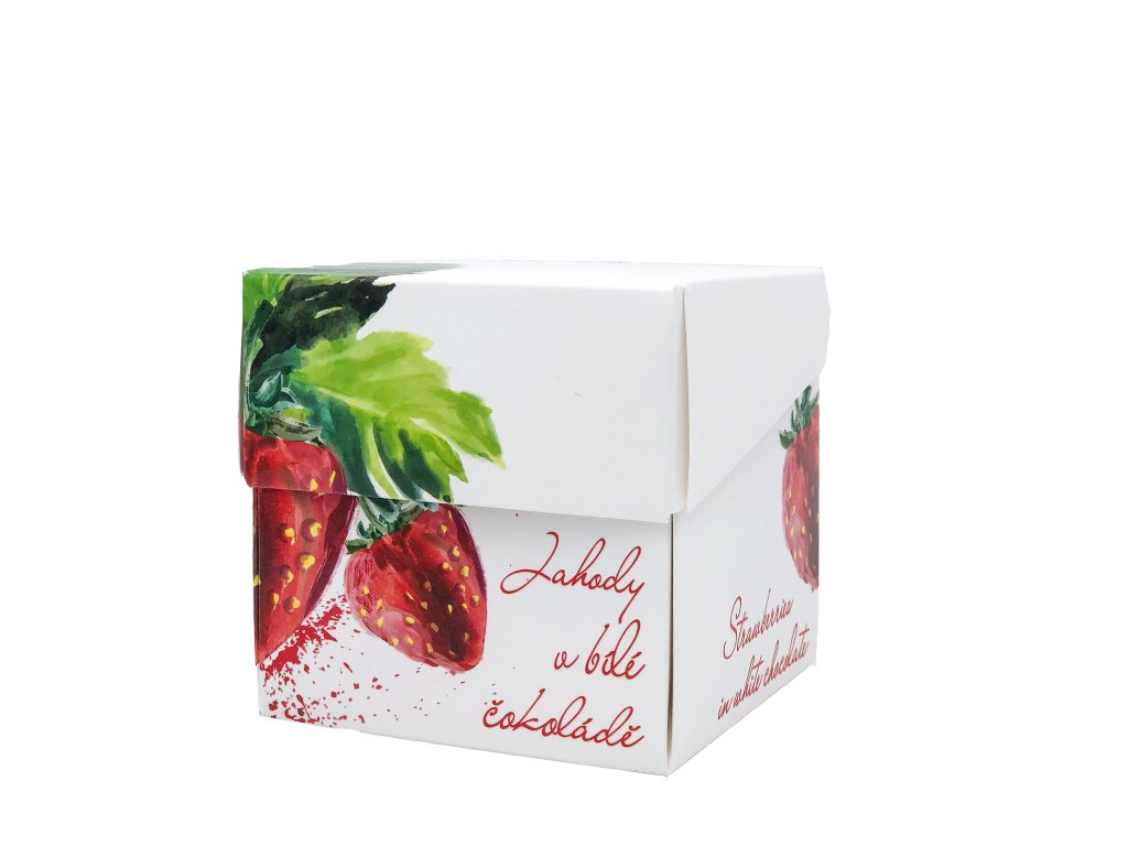 Freeze Dried Strawberries in White Chocolate