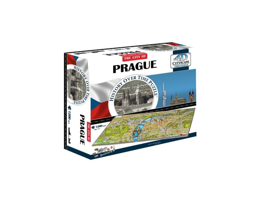 O Praze pro děti: 4D Cityscape 4D puzzle Praha