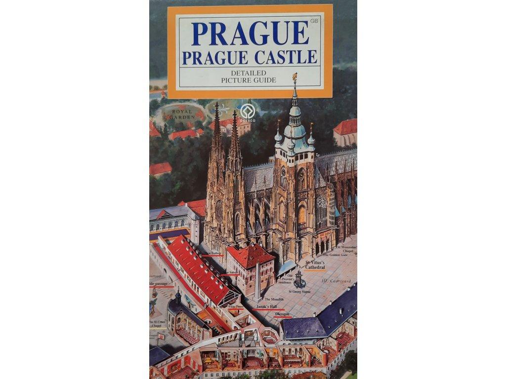 O Praze pro děti - Anglicky: Mapa Pražského hradu