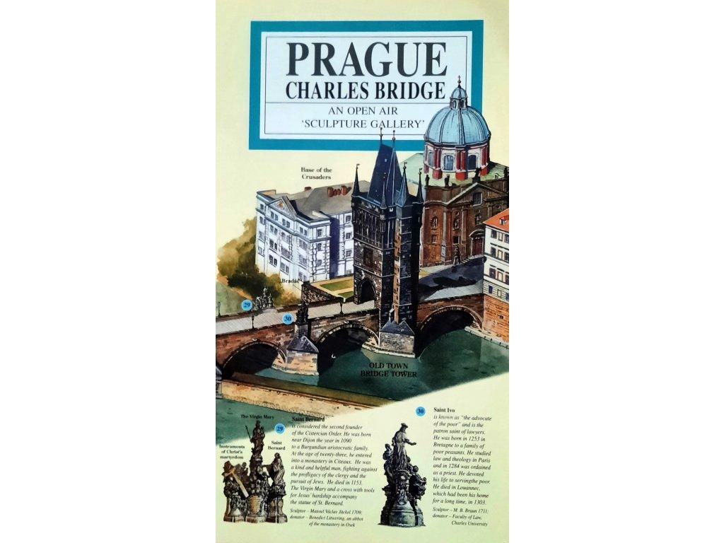 O Praze pro děti: Karlův most - anglicky