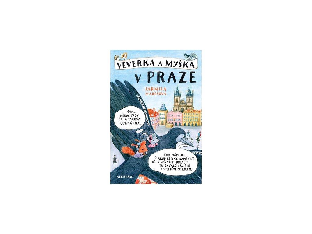 O Praze pro děti: Veverka a myška v Praze