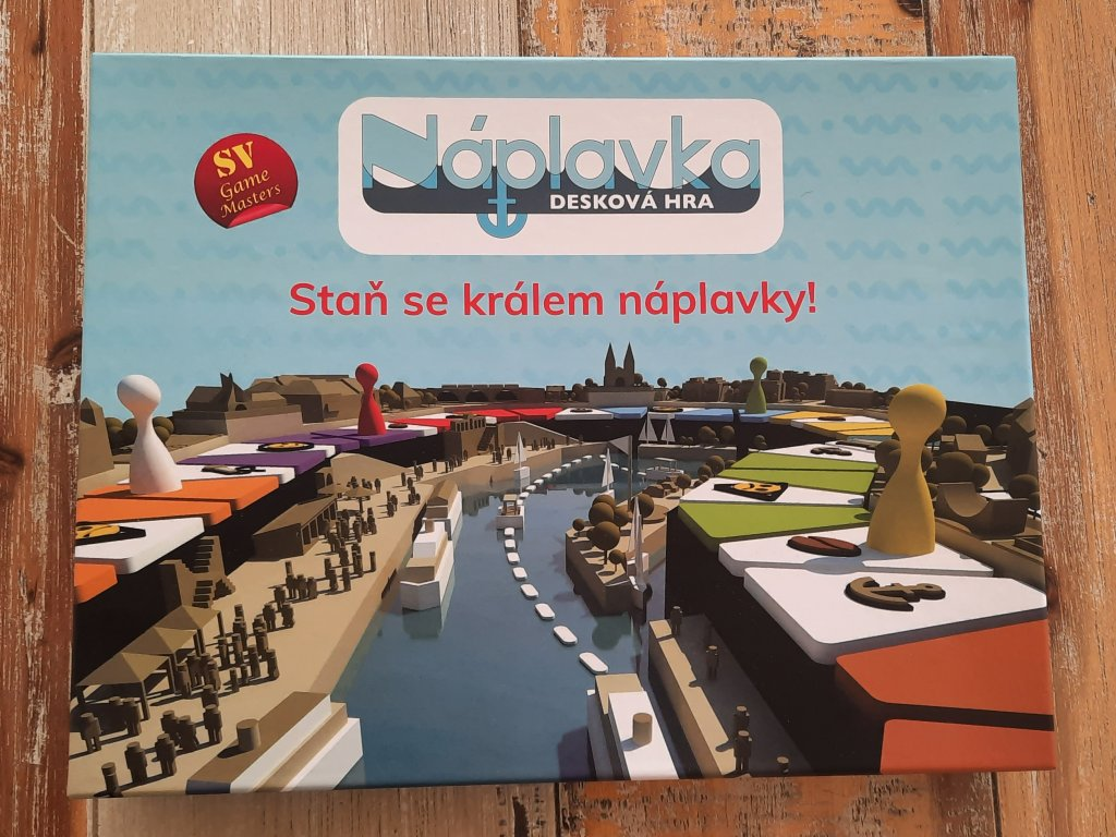 O Praze pro děti: Desková hra Náplavka