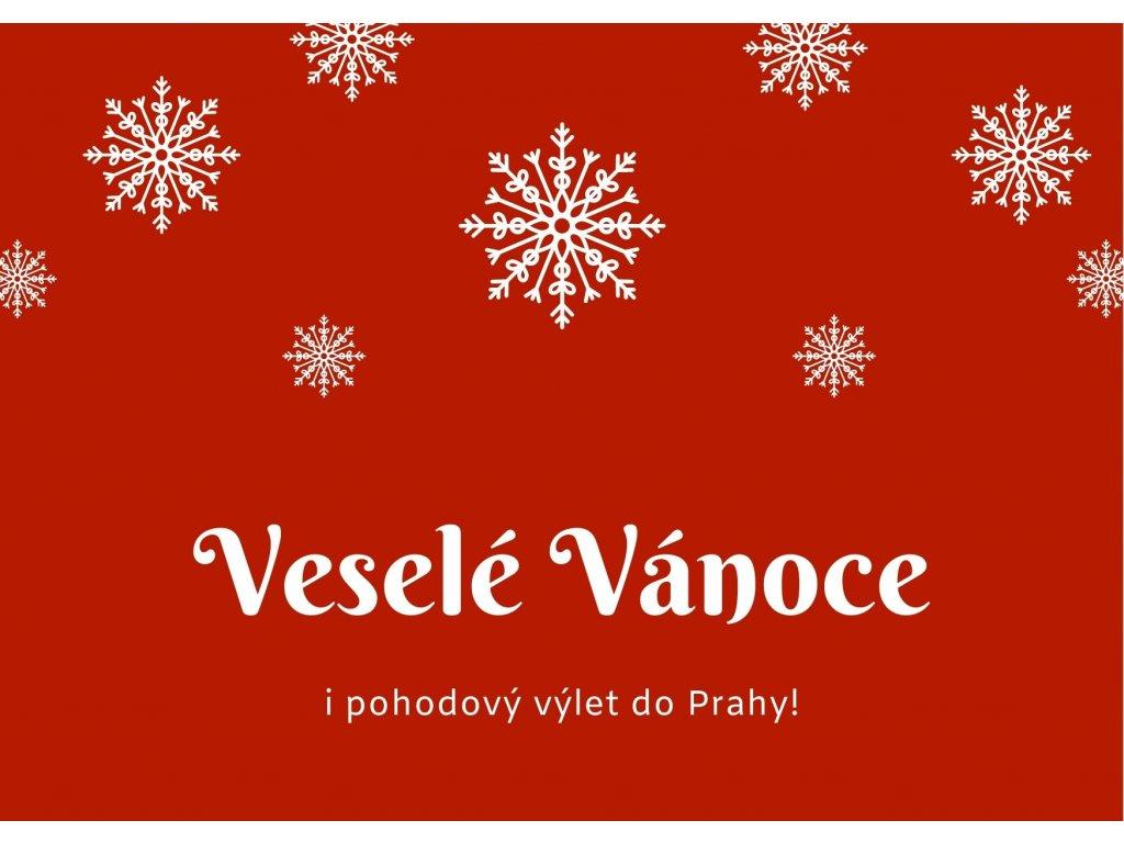Pražské zkratky: Vánoční poukaz o Praze pro děti