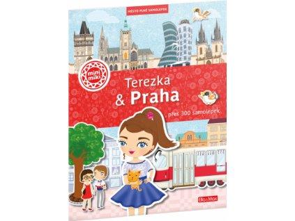 O Praze pro děti: Terezka - Praha město plné samolepek