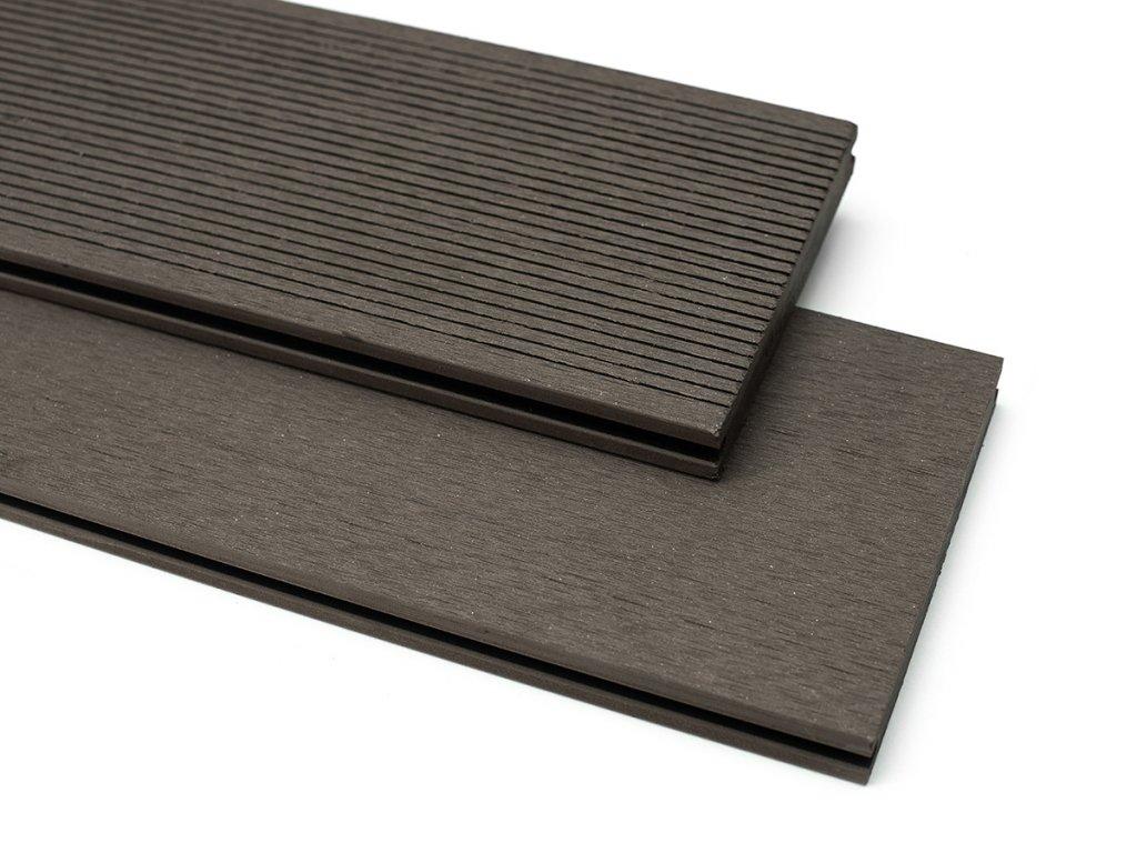 WPC TERASOVÉ PRKNO BAMBOOGARD - EXPERT 4m (Barva Tmavě šedá)