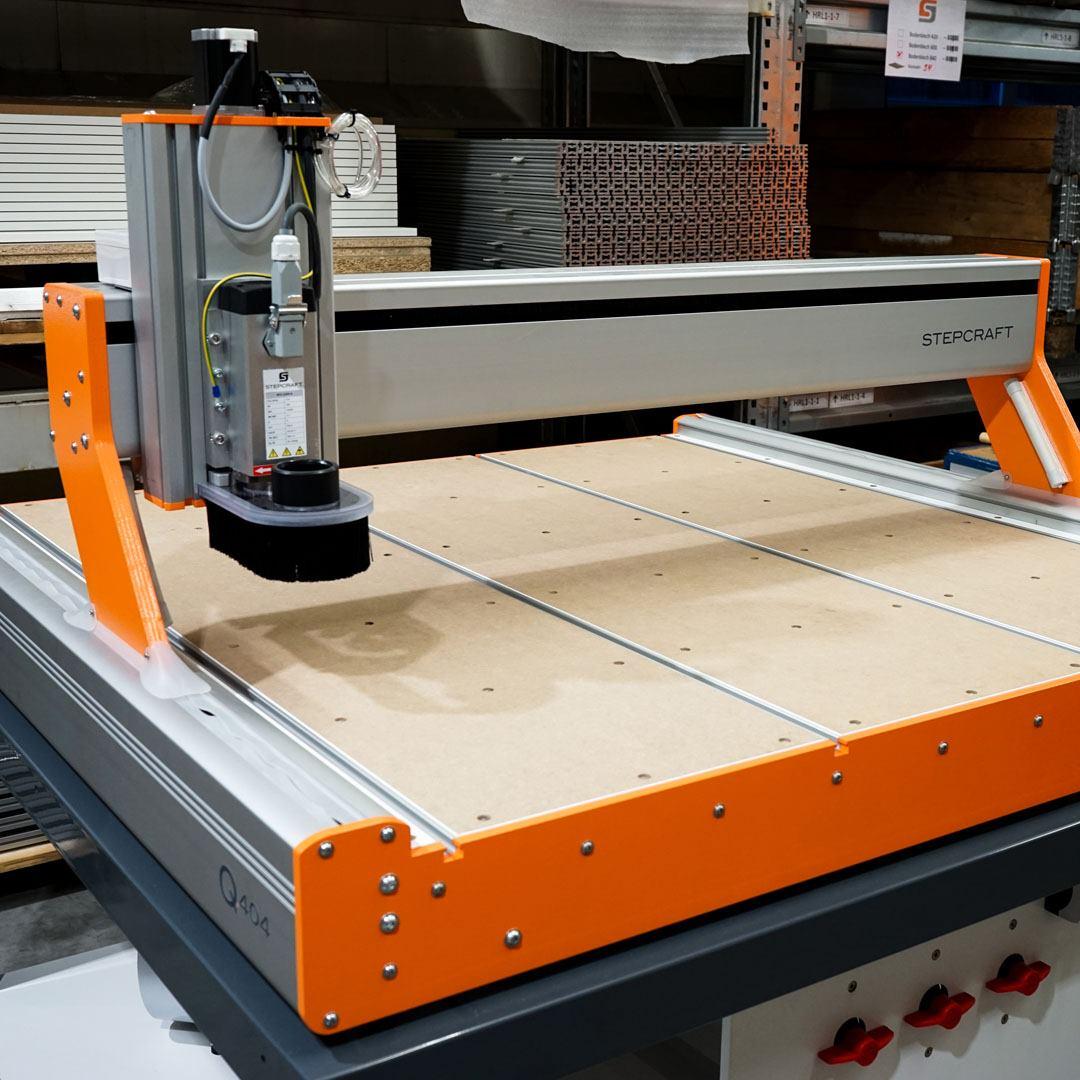 VACU-T slot pracovní stůl STEPCRAFT Q.Serie