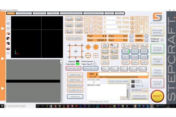 UCCNC - profil Stepcraft