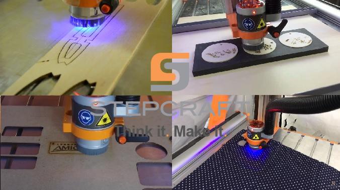 Laserová gravírovací a řezací jednotka