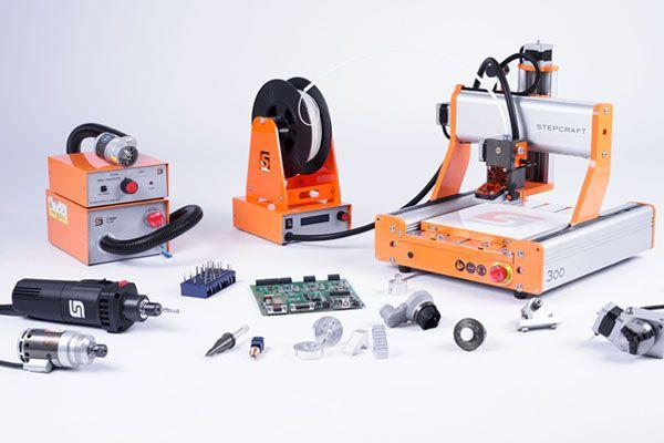 STEPCRAFT CNC systémy D-Serie