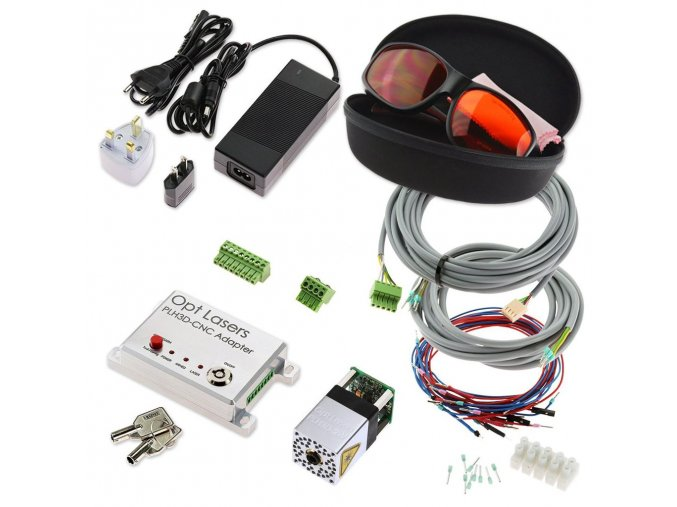 universal cnc laser upgrade kit with plh3d 2w