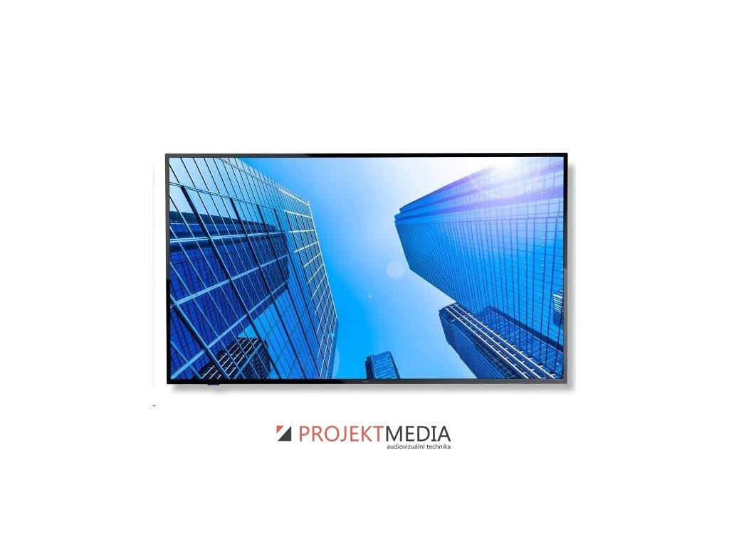 """NEC LFD 50"""" MuSy E507Q VA LED,3840x2160,4000:1,350cd,8ms,VGA,3 x HDMI,SPDIF,RS-232C audio 2x10W,16/7, bez stojana"""