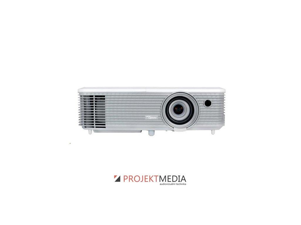 Optoma projektor EH400 (DLP, 1080p, Full 3D, 4000 ANSI, 22 000:1, USB, VGA, HDMI with MHL, 2W speaker)