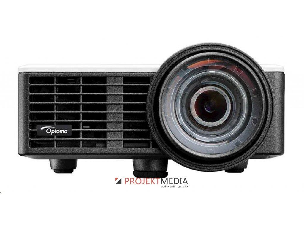 Optoma projektor ML1050ST (DLP, WXGA, 3D, LED, 1 000 ANSI, 20 000:1, VGA, USB, HDMI, MHL, built-in speaker)
