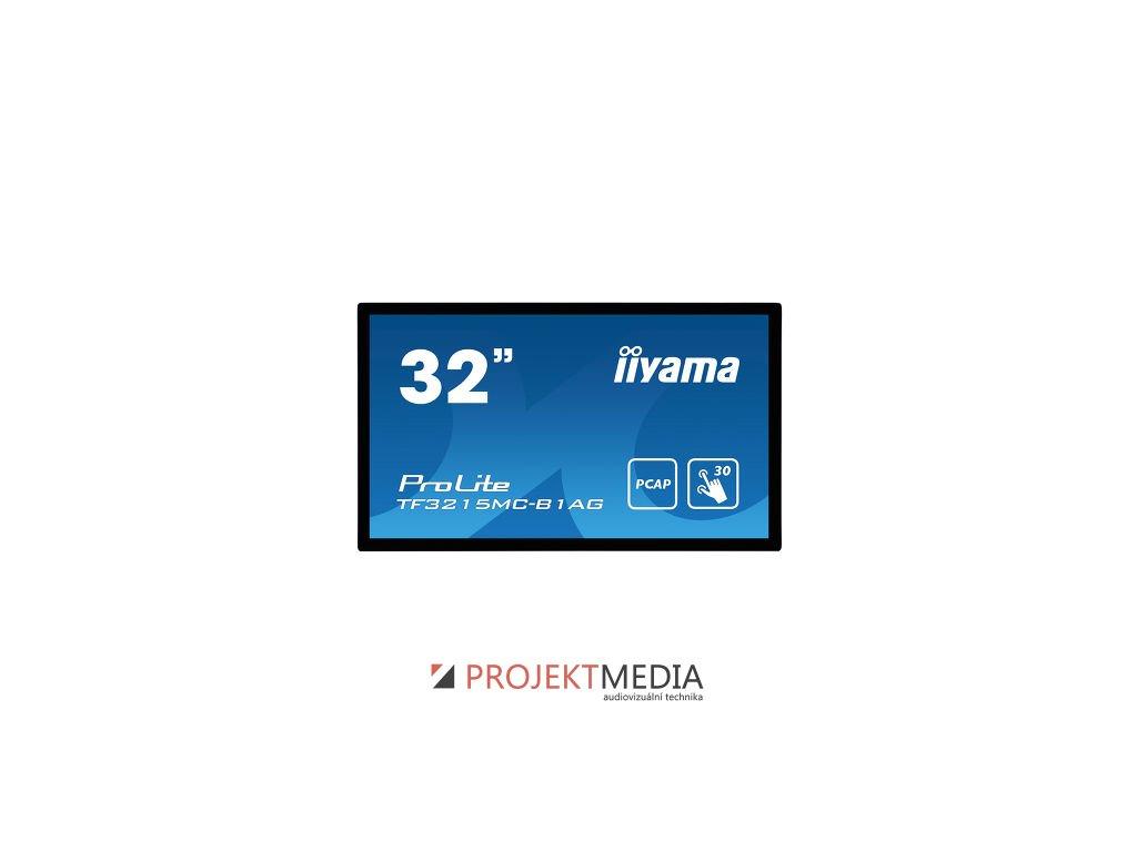 32'' iiyama TF3215MC-B1AG: FullHD,capacitive, 500cd/m2, VGA, HDMI, černý