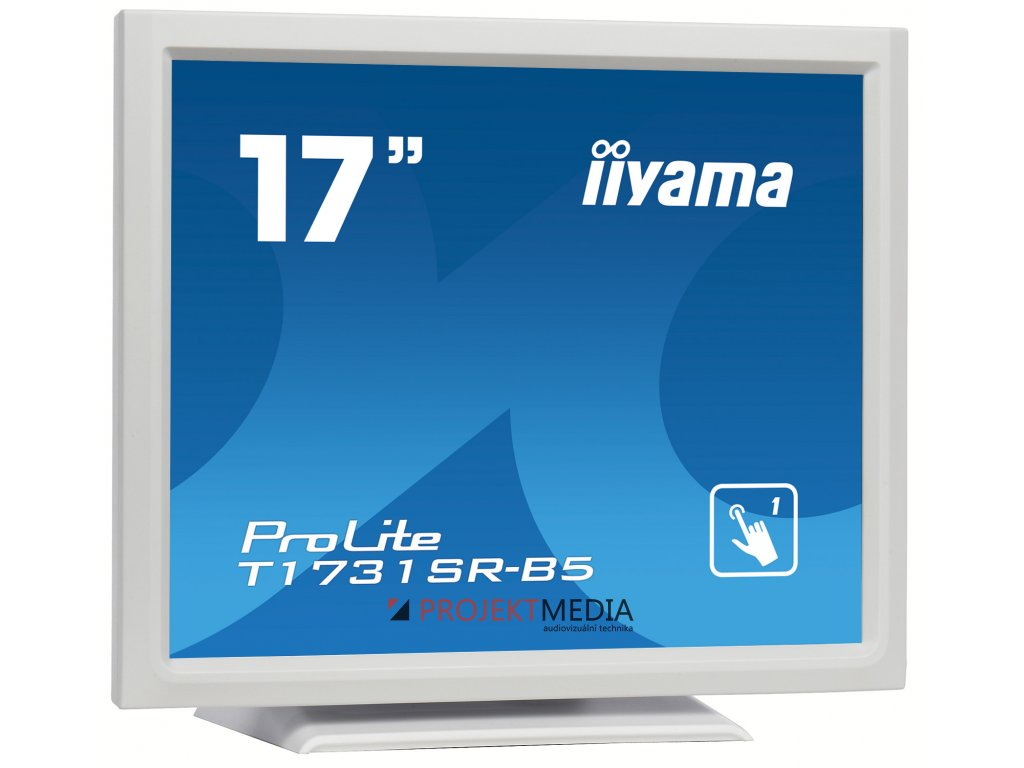 17'' iiyama T1731SR-W5 - TN,SXGA,5ms,250cd/m2, 1000:1,5:4,VGA,HDMI,DP,USB,repro
