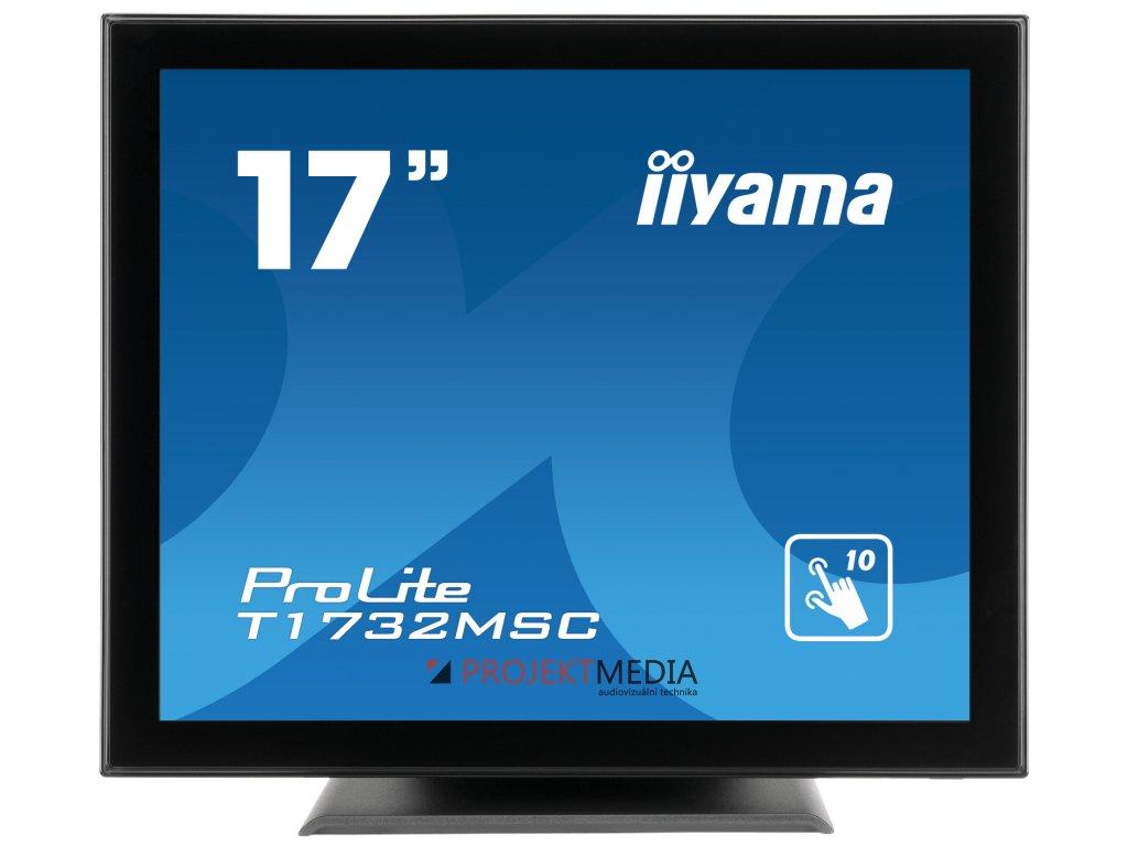 17'' iiyama T1732MSC-B5X - TN,SXGA,5ms,250cd/m2, 1000:1,5:4,VGA,HDMI,DP,USB,repro.