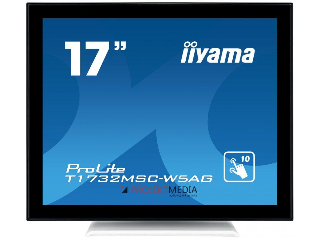 17'' iiyama T1732MSC-W5AG - TN,SXGA,5ms,250cd/m2, 1000:1,5:4,VGA,HDMI,DP,USB,repro.