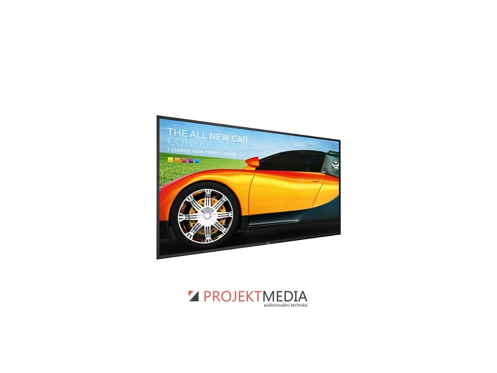 75'' E-LED Philips 75BDL3050Q-UHD,IPS,410cd,AN,18/7