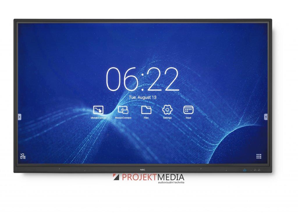 75'' LED NEC CB751Q,3840x2160,IPS,12/7,350cd,touch