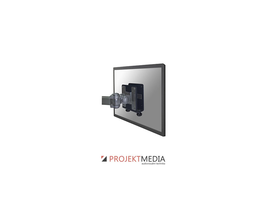 NewStar tenký držák pro PC monitor nosnost 10kg,černý VESA 50, 100 a 150