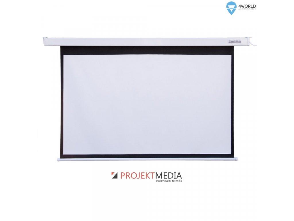 4World Projekční plátno elektrické DO 145x110 72'' 4:3