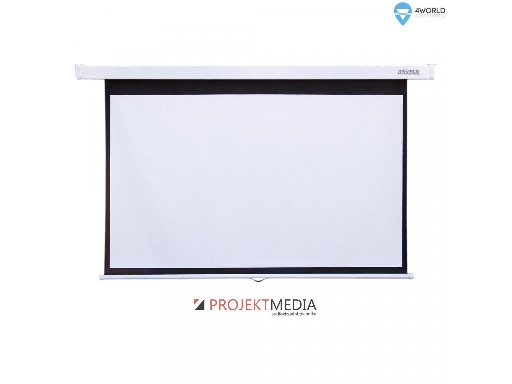4World Projekční plátno manuální 203x152 100'' 4:3
