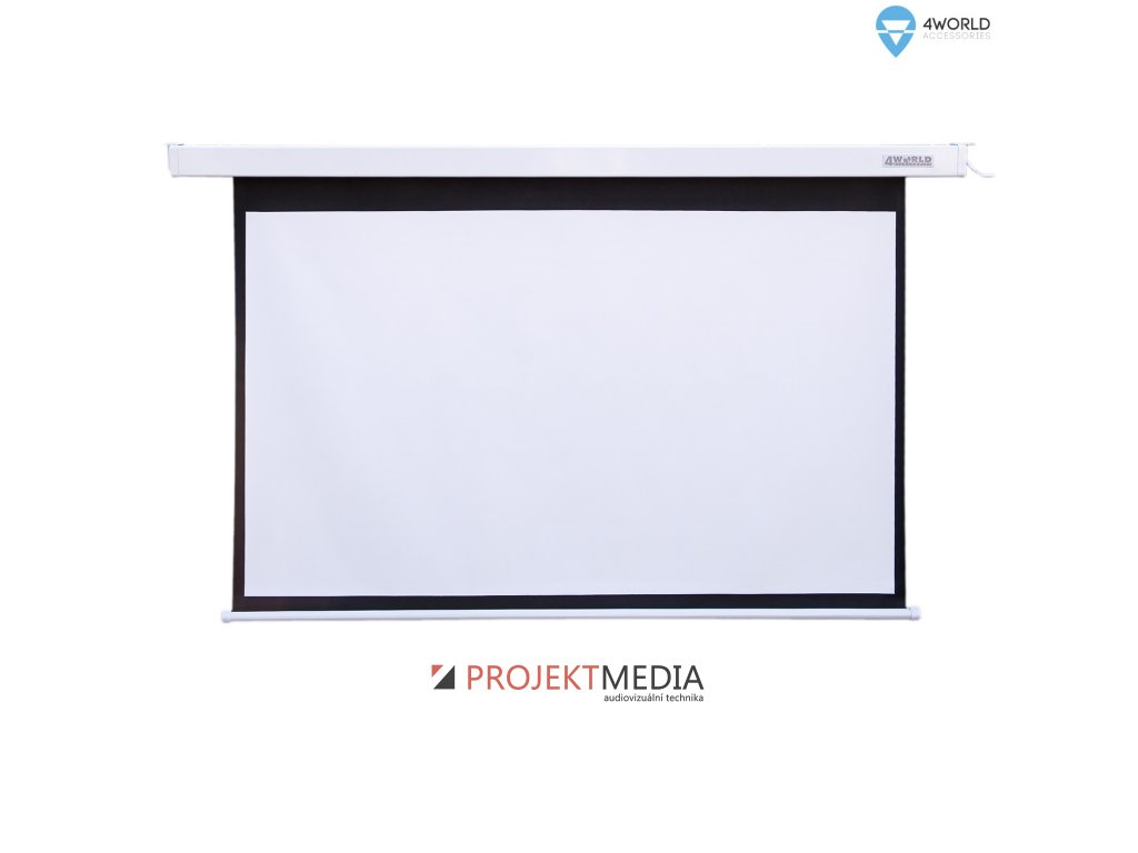4World Projekční plátno elektrické DO 195x146.2 96'' 4:3